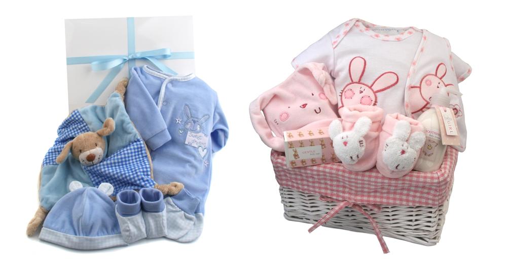 kraampakketten blauw en roze